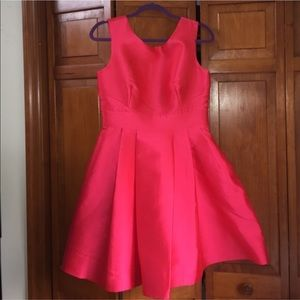 Hot Pink Kate Spade Dress with Back Bow